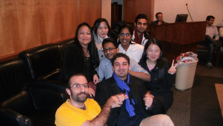 Biochem Department Holiday Party 2014